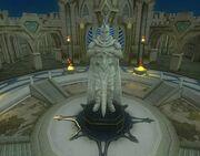 Guild hall amenity - resolution statue