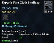 Expert's Fine Cloth Skullcap