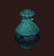 A Crafted Vase Placed