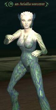Arialla sorcerer