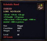 Echolalic Band