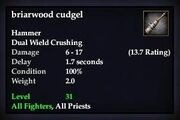 Briarwood cudgel