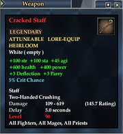 Cracked Staff