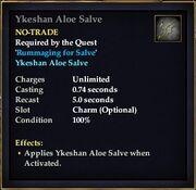 Ykeshan Aloe Salve