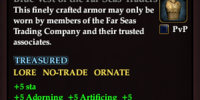Blue Vest of the Far Seas Traders