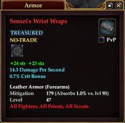 Sensei's Wrist Wraps