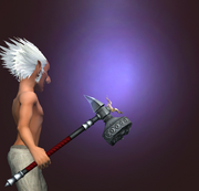 Maj'Dul Forged Hammer (Equipped)