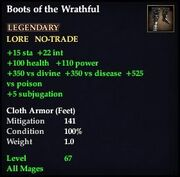 Boots of the Wrathful