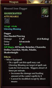 Blessed Iron Dagger