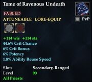 Tome of Ravenous Undeath