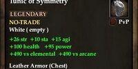 Tunic of Symmetry