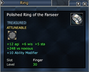 Polished Ring of the Farseer