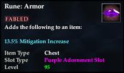 Rune- Armor