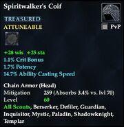 Spiritwalker's Coif