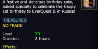 A 1-Year Birthday Cake