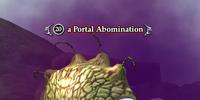 A Portal Abomination