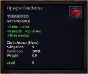 Opaque Bandanna