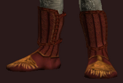 Seraphic Shoes of the Occultist (Equipped)