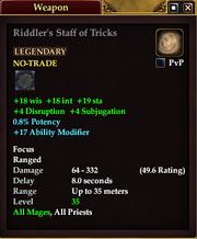Riddler's Staff of Tricks