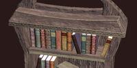 A Small Ornate Freeport Bookcase