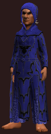 Channeler's Nebulous Robe (Equipped)