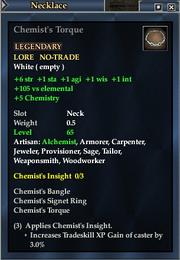Chemist's Torque