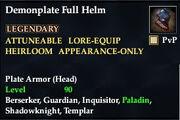 Demonplate Full Helm