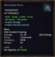 Shrouded Mace