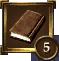Achievement Icon darkbrown book 5
