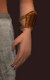 Elysian Wristguard of the Gambler (Equipped)