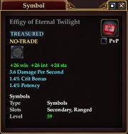 Effigy of Eternal Twilight
