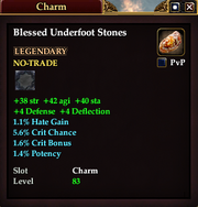 Blessed Underfoot Stones
