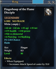 Fingerhoop of the Flame Disciple