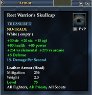 Reet Warrior's Skullcap