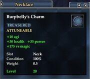 Burpbelly's Charm