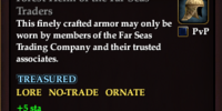 Forest Helm of the Far Seas Traders