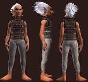 Woven reinforced tunic (Equipped)
