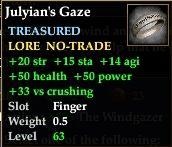 Julyian's Gaze