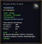 Bracers of the Tracker