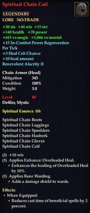 Spiritual Chain Coif
