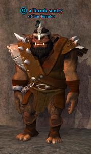 A Terrok sentry