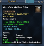 Orb of the Maidens Cries