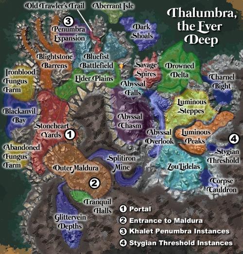 Thalumbra, the Ever Deep