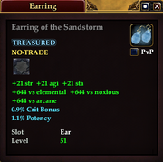 Earring of the Sandstorm