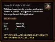 Emerald Knight's Shield