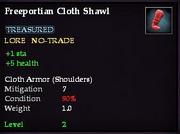 Freeportian Cloth Shawl