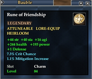 Rune of Friendship