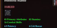 Frostfired Mantle
