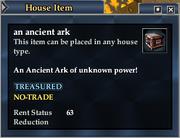 An ancient ark