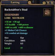 Backstabbers stud